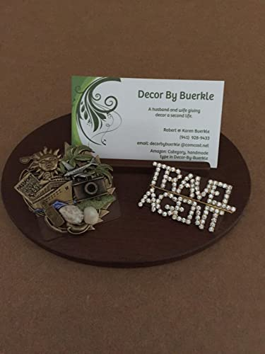 Amazon travel agent business card holder handmade travel agent business card holder colourmoves