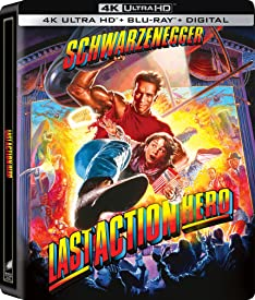 LAST ACTION HERO arrives on 4K Ultra HD for the First Time May 18th from Sony Pictures