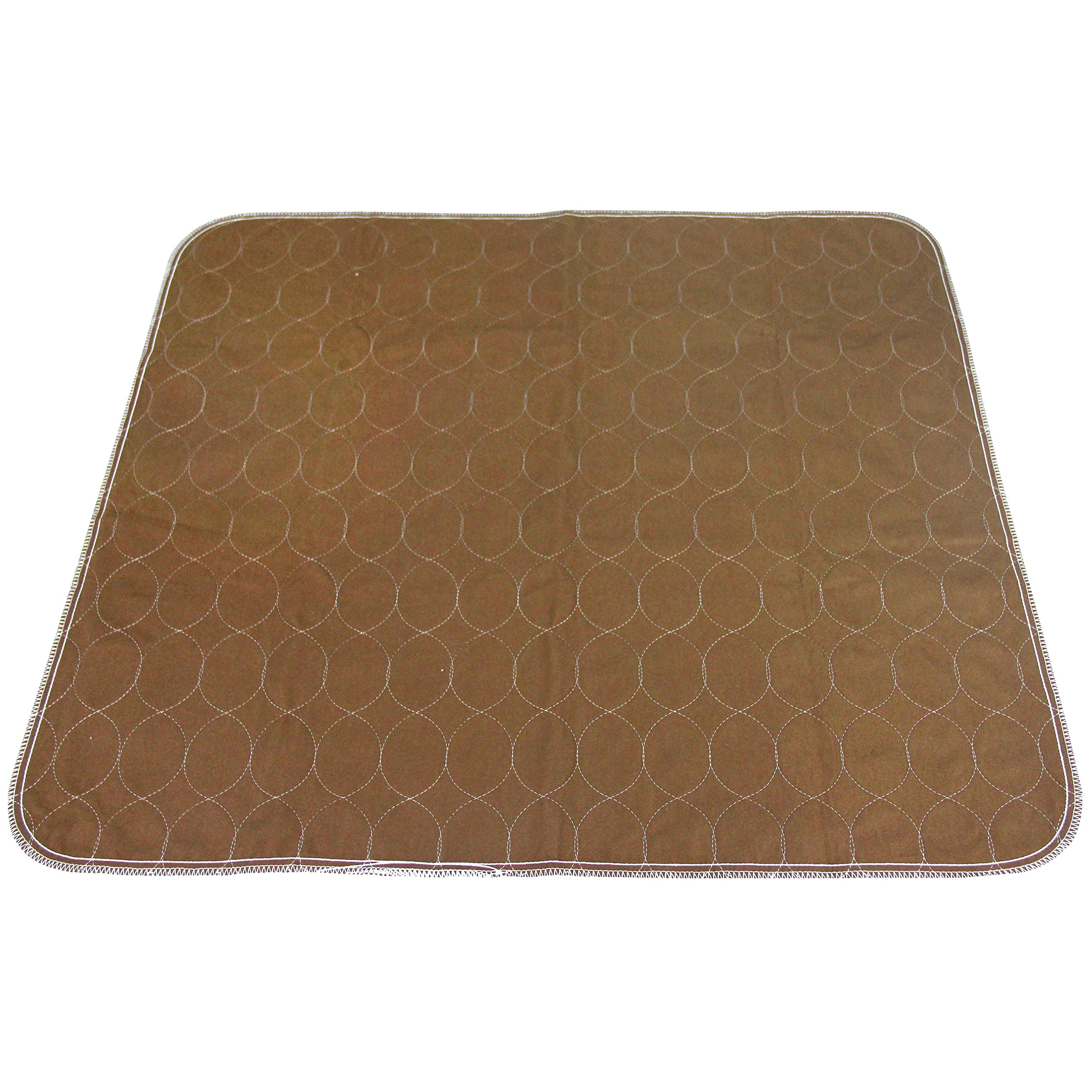 Paw Legend Reusable Dog Pee Pads (2 Pack) of 30''x32'' - Washable Dog Training Pads, Large Travel Pad for Pets(1 Brown & 1 Tan) by Paw Legend (Image #5)