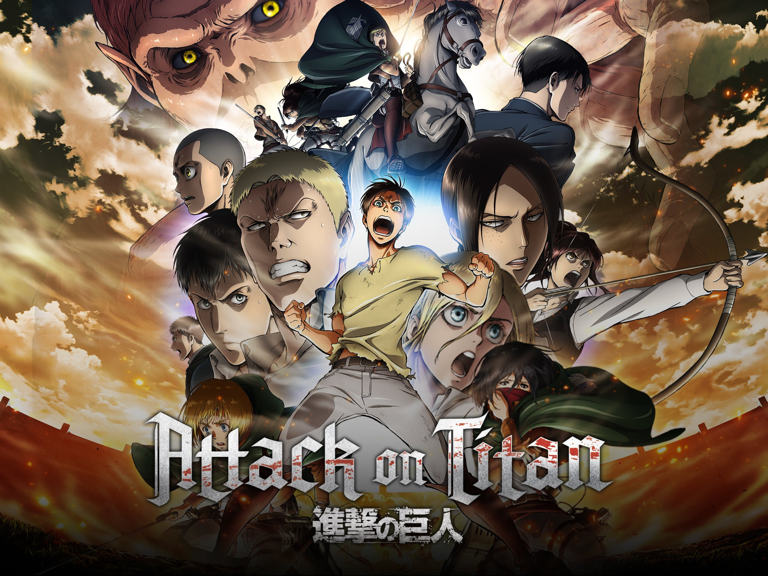 attack on titan season 2 free online watch