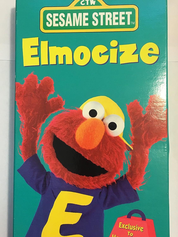 Amazon.com: Sesame Street - Elmocize [VHS]: Sesame Street: Movies & TV