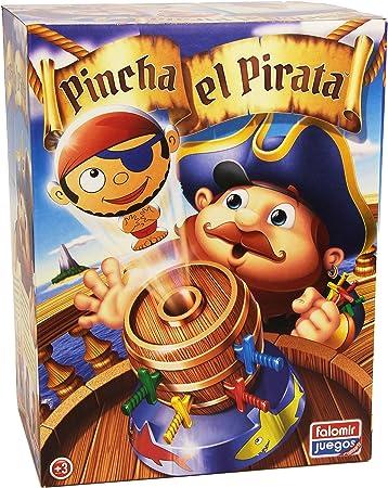 Falomir- Pincha el Pirata Juego de Mesa, Multicolor, única (646476): Amazon.es: Juguetes y juegos