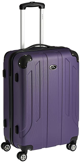 Pronto Protec ABS 78 cms Purple Hard Sided Suitcase (6518 - PL ...