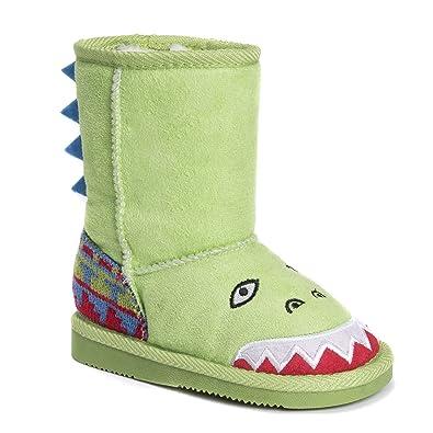 MUK LUKS Finn Shark Boot(Children's) -Grey Buy Cheap Discounts INqPwSVEZ
