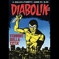 DIABOLIK (127): Terrore sulla città (Italian Edition)