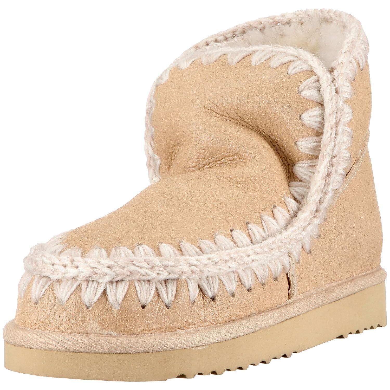 Mou Boots Womens Beige Beige (Nude Oyster Metallic) Size  3.5 (36 EU ... 4e147f6ea