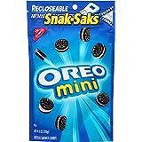 Oreo Mini Chocolate Sandwich Cookies, 8 Ounce (Pack of 12)