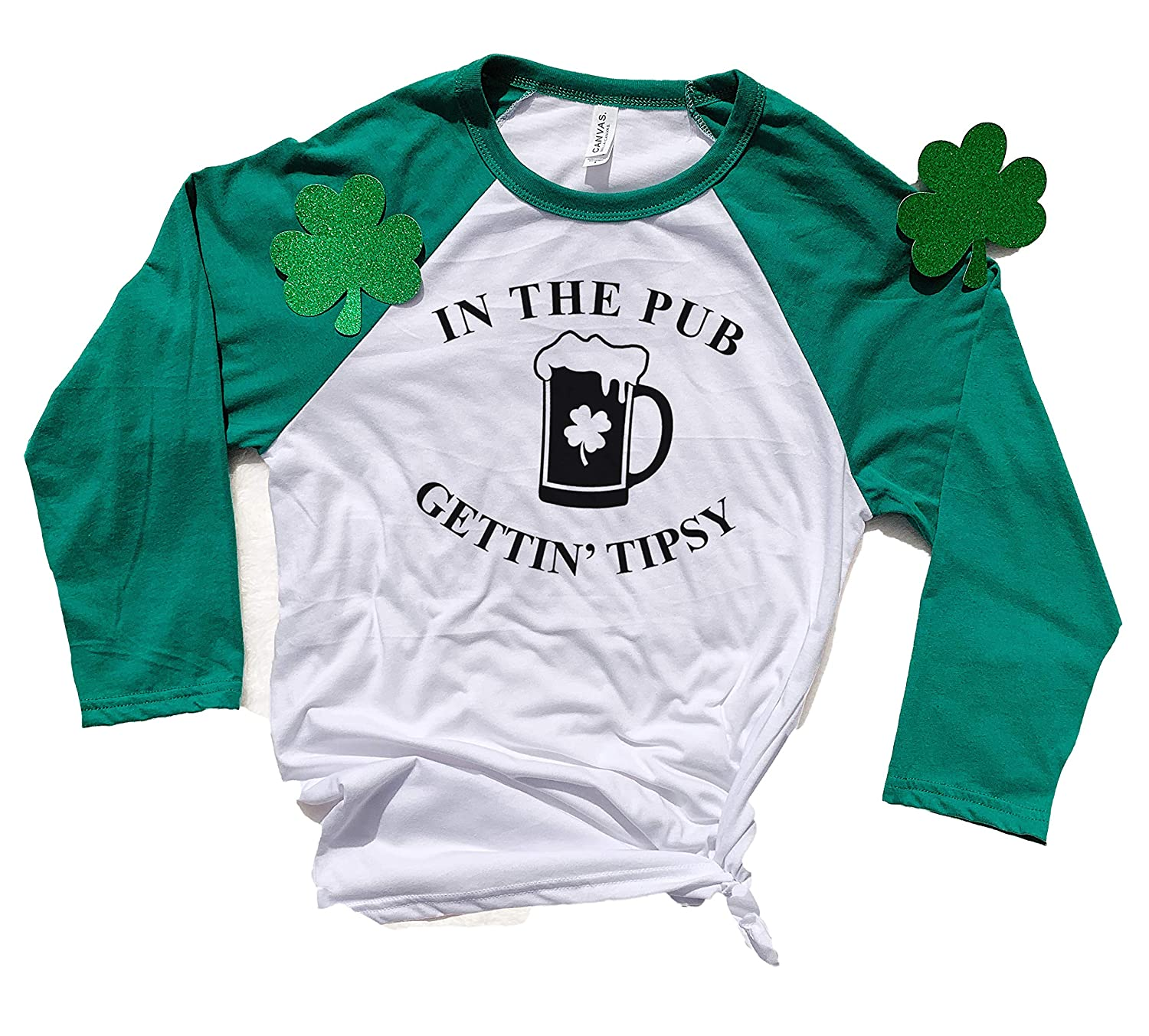 4461cf5a St Patricks Raglan, Long Sleeve Shirt, Cute St Patricks Day Shirt Women, St  Paddys T Shirts Women, St Patricks Drinking T Shirt, Green Beer Shirt, ...