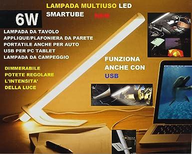 Plafoniere Da Campeggio : Lampada led dimmerabile 6w multiuso tubo luce calda da tavolo