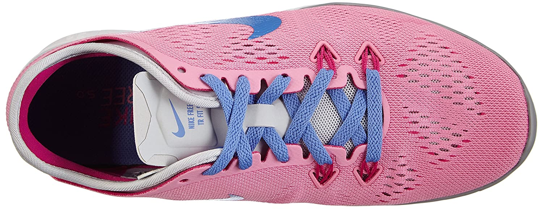 Nike Free 5.0 Tr Fit Damen 5 Damen Fit Fitnessschuhe Pink (Rose/Polar-pr Platinum-frbrry 600) b6fa71
