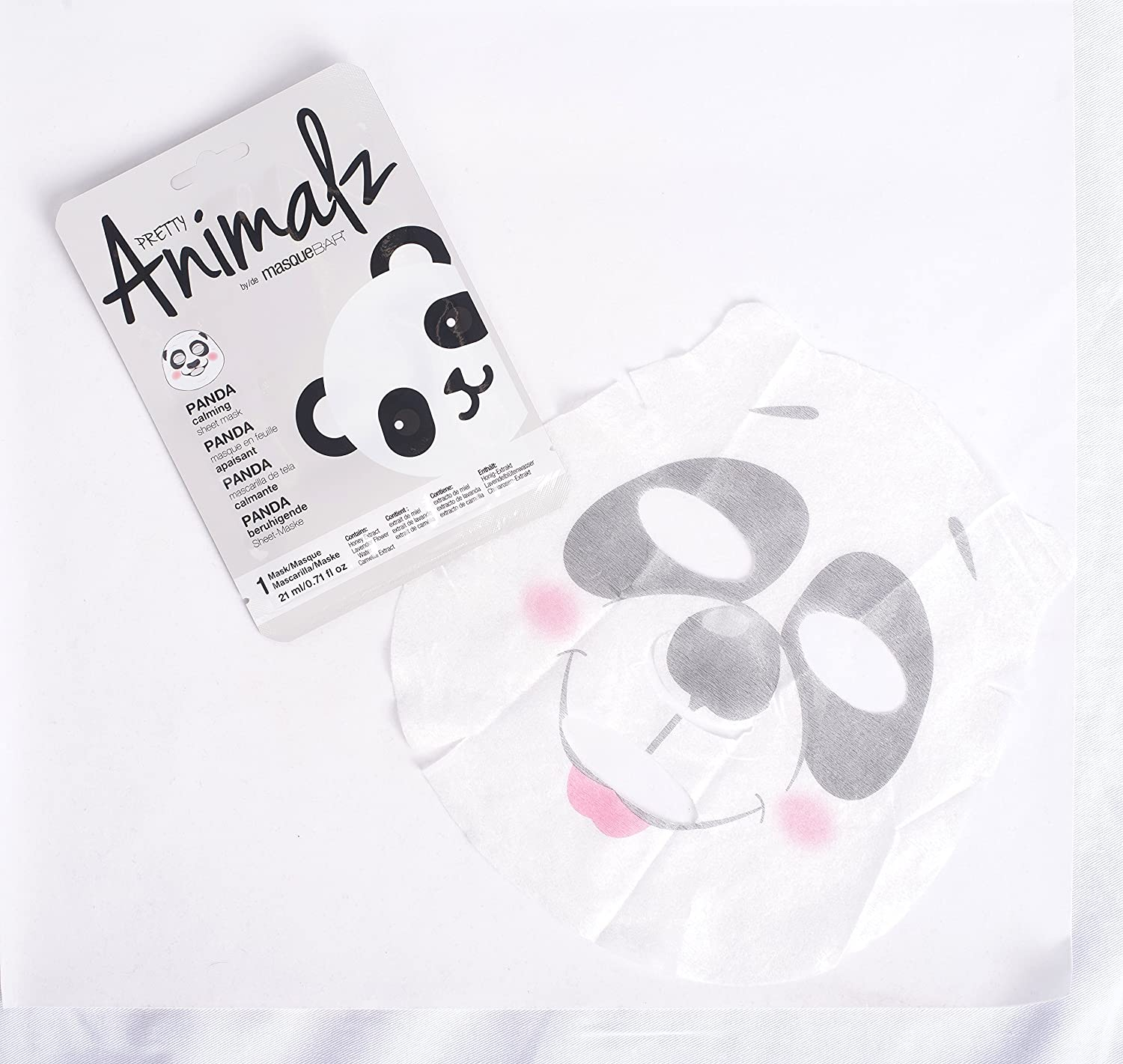 Amazon com : Pretty Animalz Panda Sheet Mask : Beauty