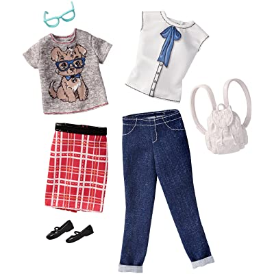 Barbie Fashions Geek Chic, 2 Pack: Toys & Games
