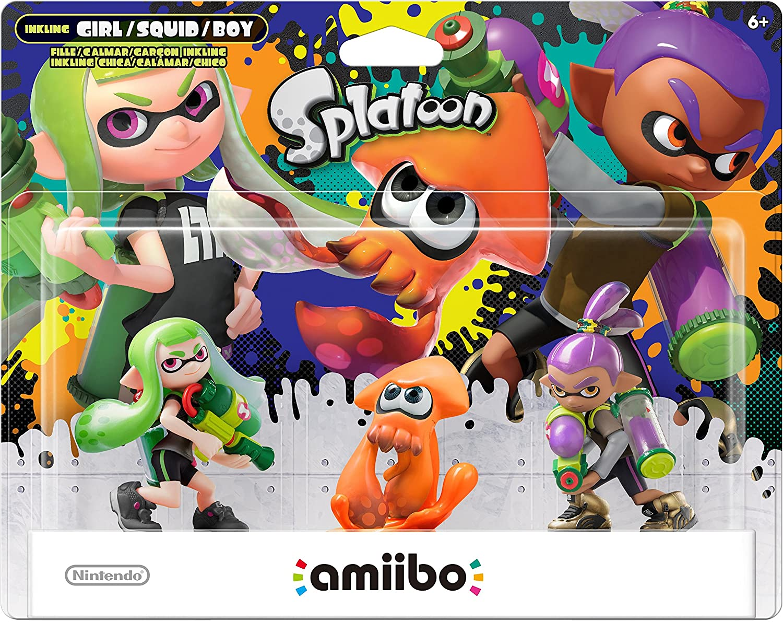 Amazon.com: Nintendo Callie & Marie 2-Pack amiibo - Nintendo ...