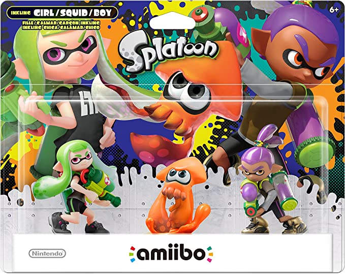 Nintendo Splatoon Series 3-Pack (Alt Colors) amiibo - Nintendo Wii U by Nintendo: Amazon.es: Videojuegos