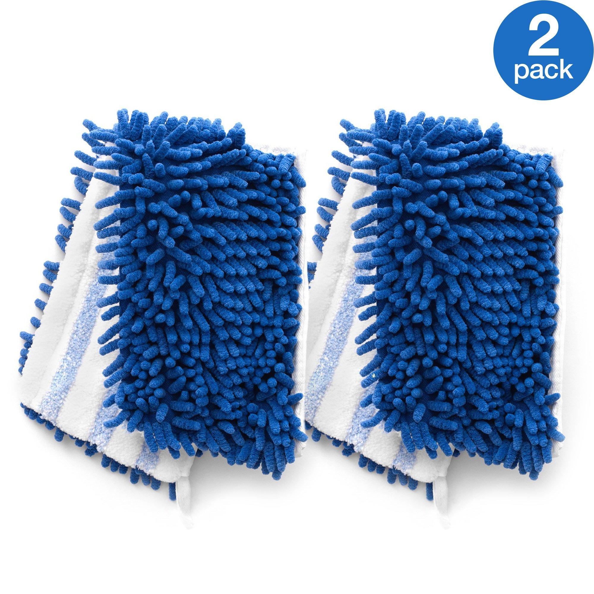 O-Cedar Dual-Action Microfiber Flip Mop Refill (Pack of 2)