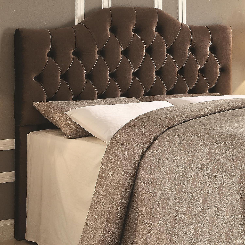 Coaster Fine Furniture 300533QF Cabecera para Cama, Tapizada en ...