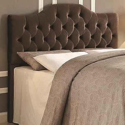 Coaster Fine Furniture 300533K Cabecera para Cama, Tapizada en ...