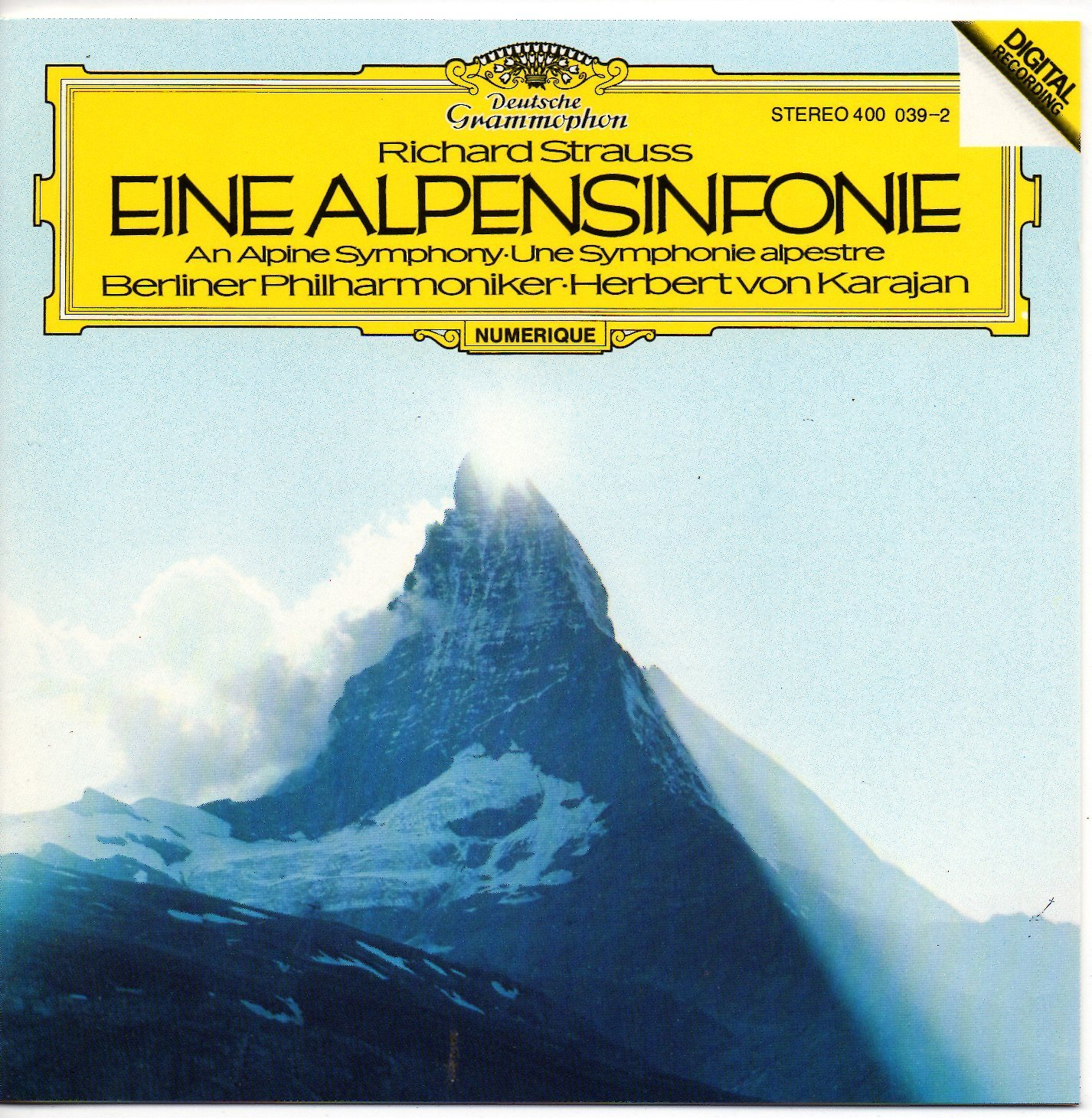 Richard Strauss, Herbert von Karajan, Berliner Philharmoniker - Richard Strauss: Eine Alpensinfonie; an Alpine Symphony - Amazon.com Music