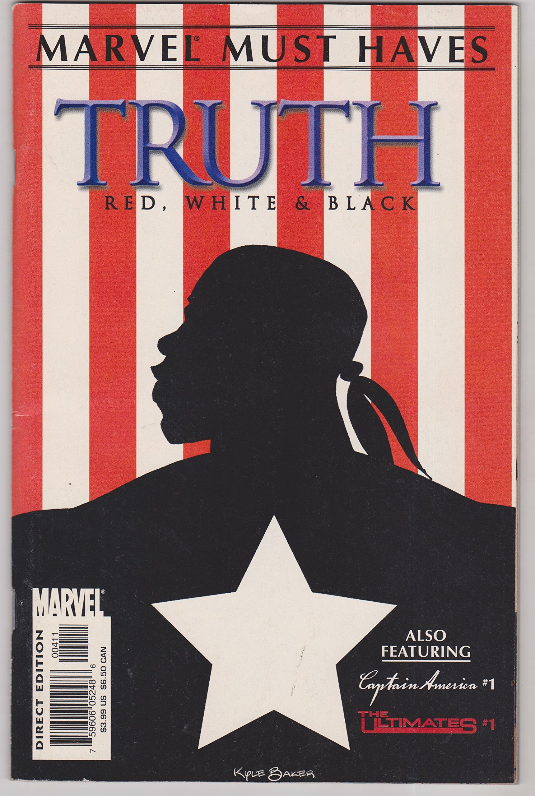 Read Online MARVEL MUST HAVES - VOLUME 1, NUMBER 4 - TRUTH RED, WHITE AND BLACK ebook