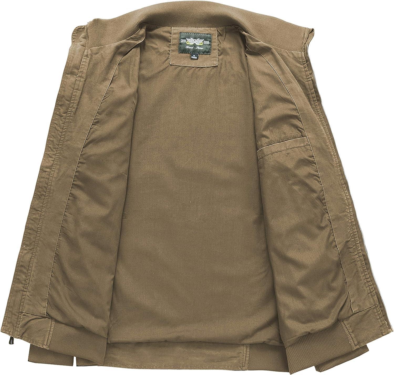 JYG Mens Lightweight Military Windbreaker Jacket