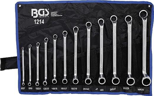 Doppelringschlüssel Satz Schraubenschlüssel Set Ringschlüssel 12 tlg 6-32 mm