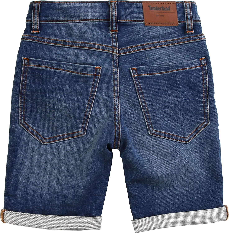 Timberland Kids Vintage Slim Fit Bermuda Jeans