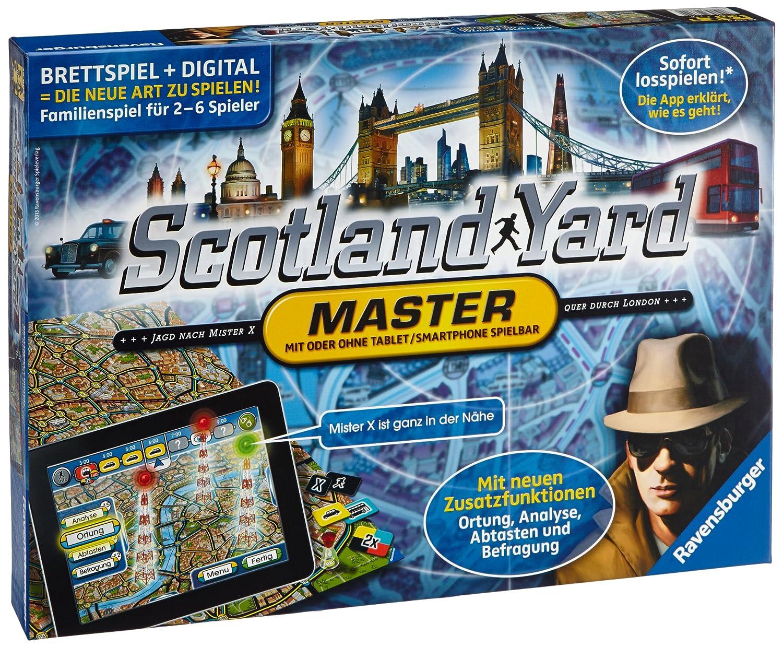 Ravensburger Scotland Yard Master - Juego de tablero (Multi) 26602 9