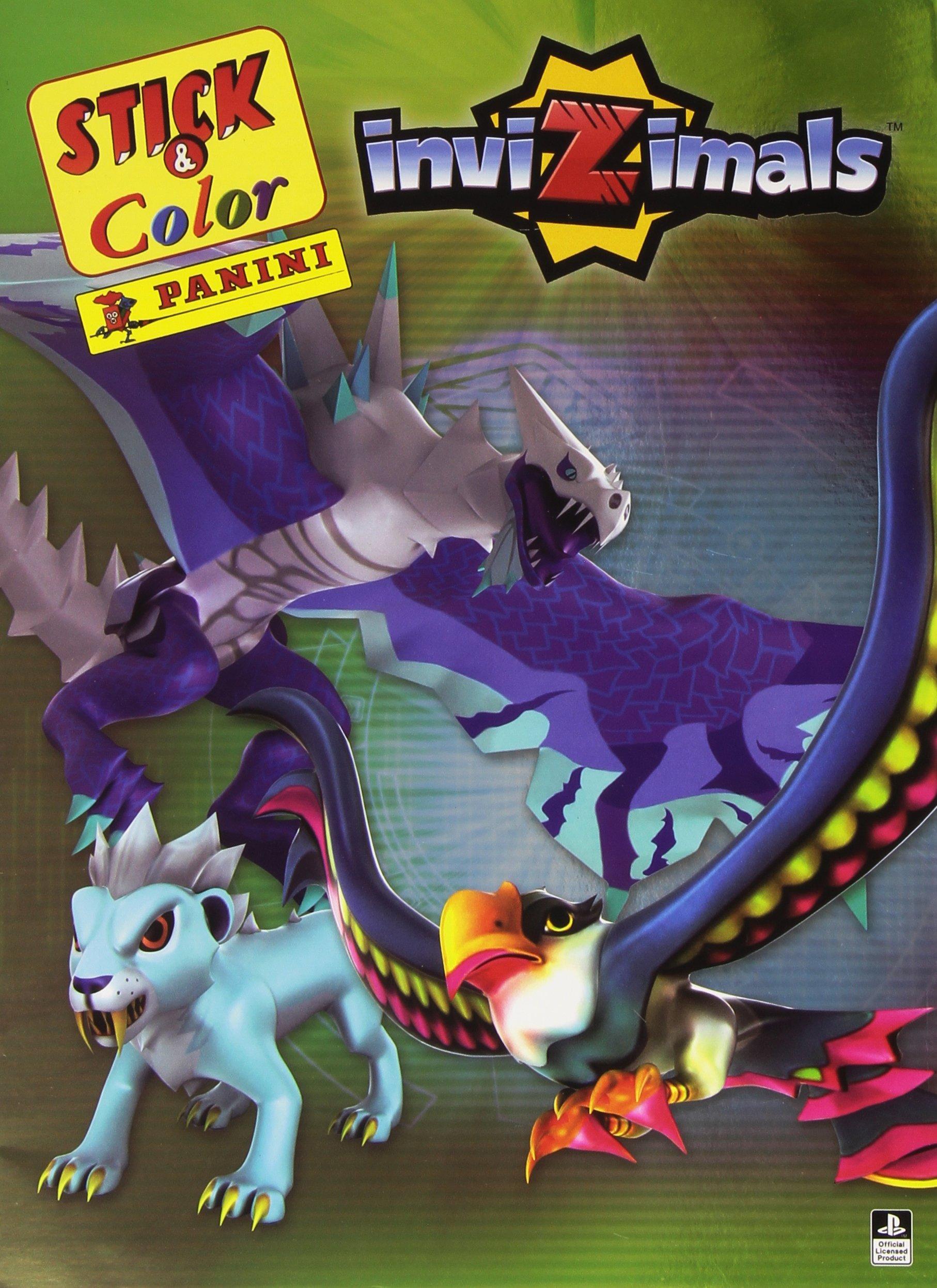 Invizimals. Stick & color: Amazon.es: Varios autores: Libros ...