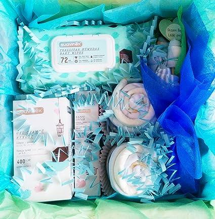 MAXI Canastilla para Bebés con Productos SUAVINEX y Ropita para Bebé | TODO es de MARCA