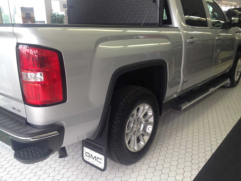 Gatorback GMC Sierra Truck Mud Flaps Rear Pair