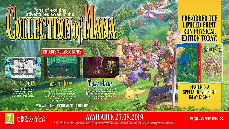 Collection of Mana - Nintendo Switch [Importación inglesa ...