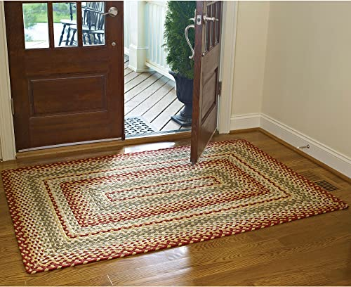Park Designs Mill Village Braided Rectangle Rug – 48 x 72