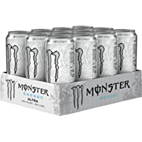 Monster - Energy Ultra - Energy Drink - 12 pakjes - 500 ml per pakje - Energy booster - Minder zoet - Lichter van smaak…