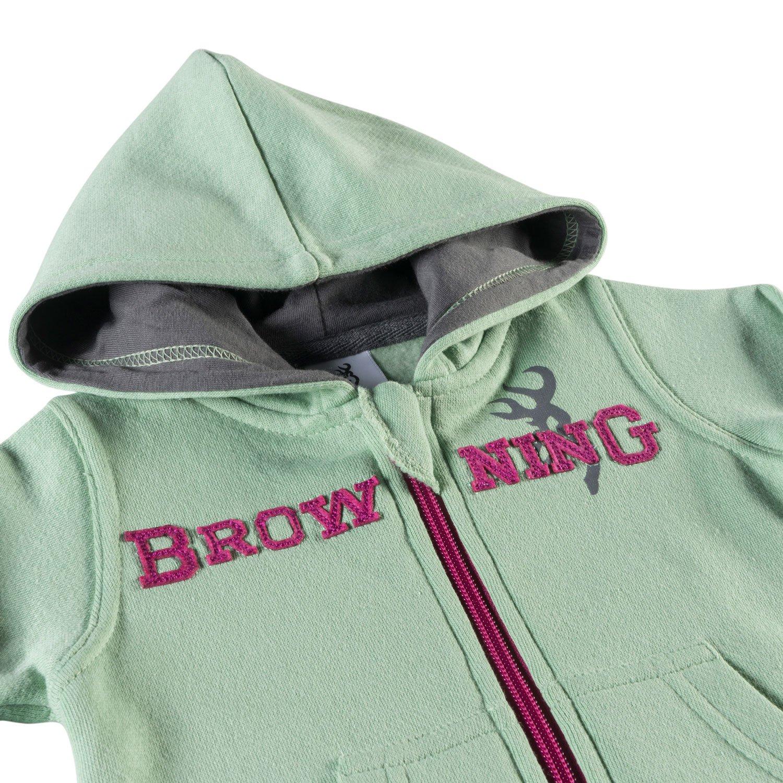 Cameo Green 9 MO Browning Baby Buckmark Full Zip Hoodie