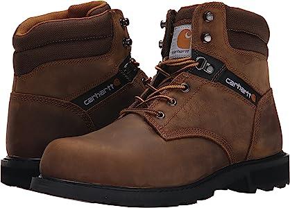 Carhartt Men's 6 Work Safety Toe NWP-M