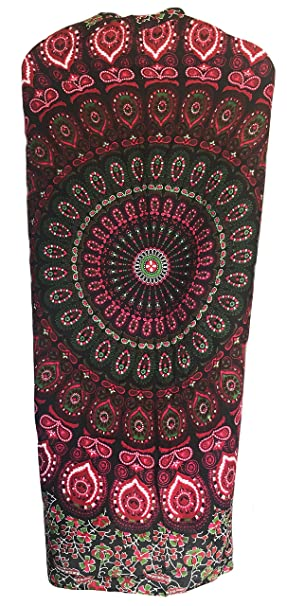 c5b96f937c Image Unavailable. Image not available for. Color: Mandala Sarong Wraps From  Bali Beach Cover Up (India ...