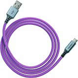 Ventev chargesync Alloy Cable, Micro USB, 4ft, Magenta