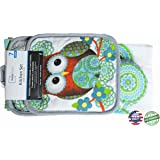 Amazon Com Cosmos Gifts 10907 Owl Couple Salt And Pepper