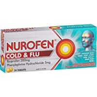 Nurofen Cold & Flu PE Tablets Pain Relief, Count of 24 (8067517)