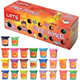 Let's Natural Play Dough 24 Colors of 3 Oz