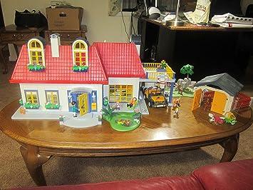Playmobil 3965 La Maison Moderne Maison Contemporaine Amazon Fr Jeux Et Jouets