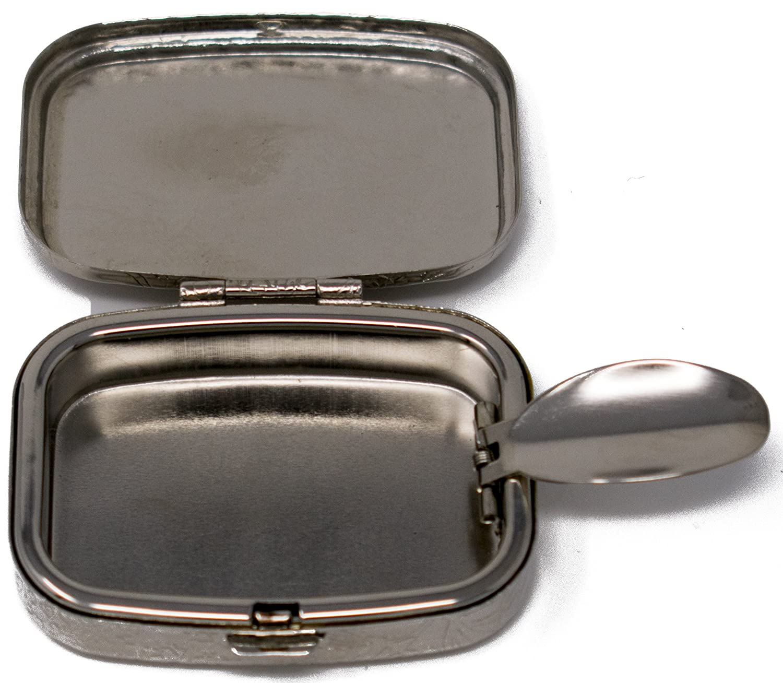 Stephanie Imports Gold Ribbed Portable Pocket Ashtray