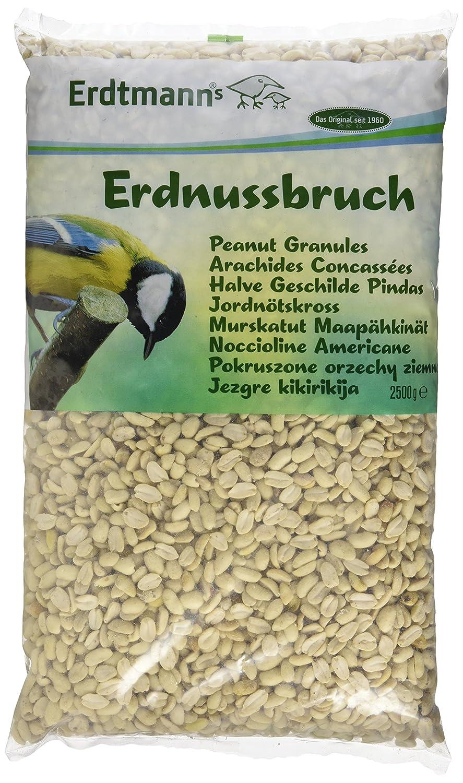 Erdtmanns Arachides Concassées pour Oiseaux 2,5 Kg Peanut Granules