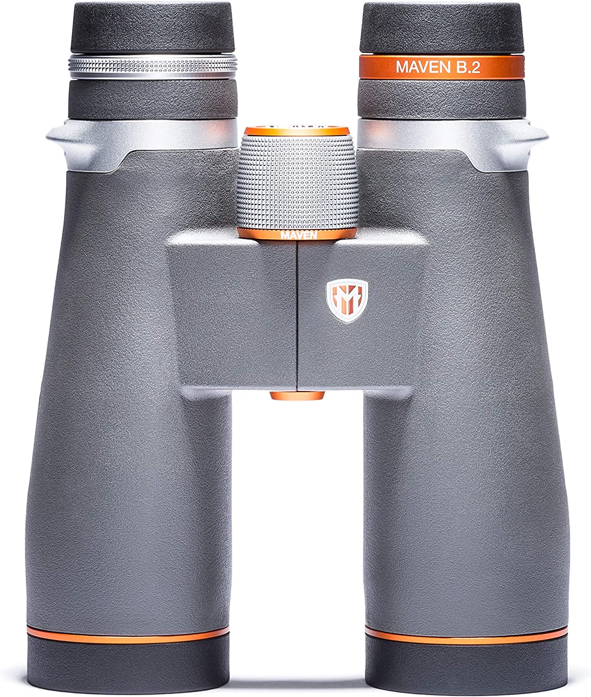 Maven B2 9X45mm ED Binoculars Gray Orange
