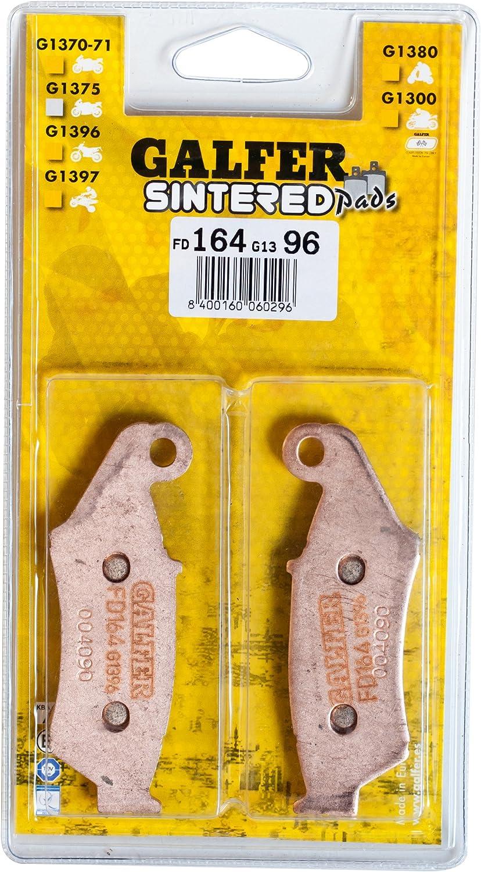 Galfer FD138G1054 Semi-Metallic Front Brake Pad