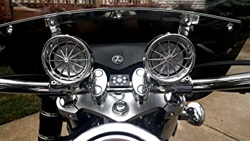 Boost Bluetooth Motorcycle Stereo Speaker System 3