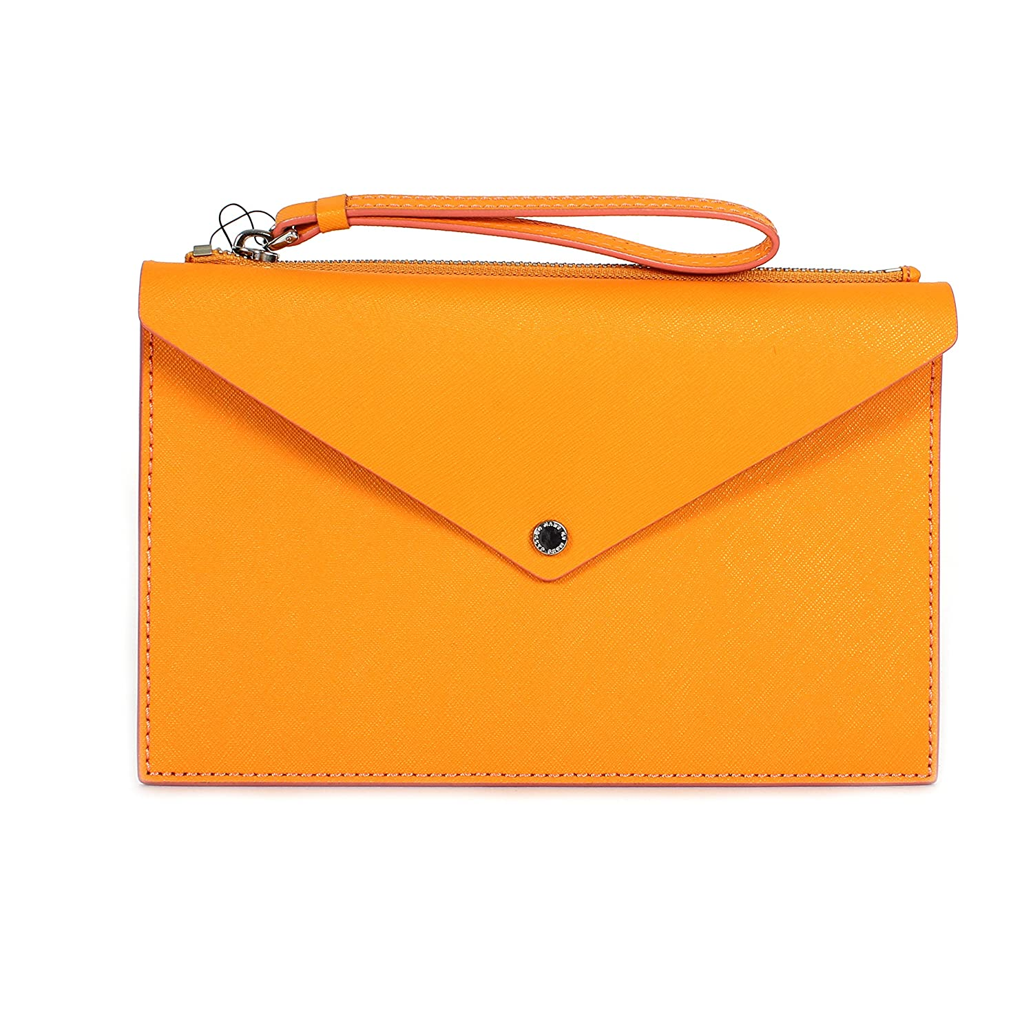 Marc by Marc Jacobs Metropoli - Large Leather Envelope Pouch Sundance Orange