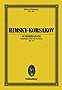 Schehezerade: Symphonic Suite for Orchestra, Op. 35 (Eulenburg Studienpartituren) (German Edition)