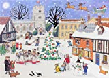 Alison Gardiner 'Christmas in the Village' Large Traditional Advent Calendar