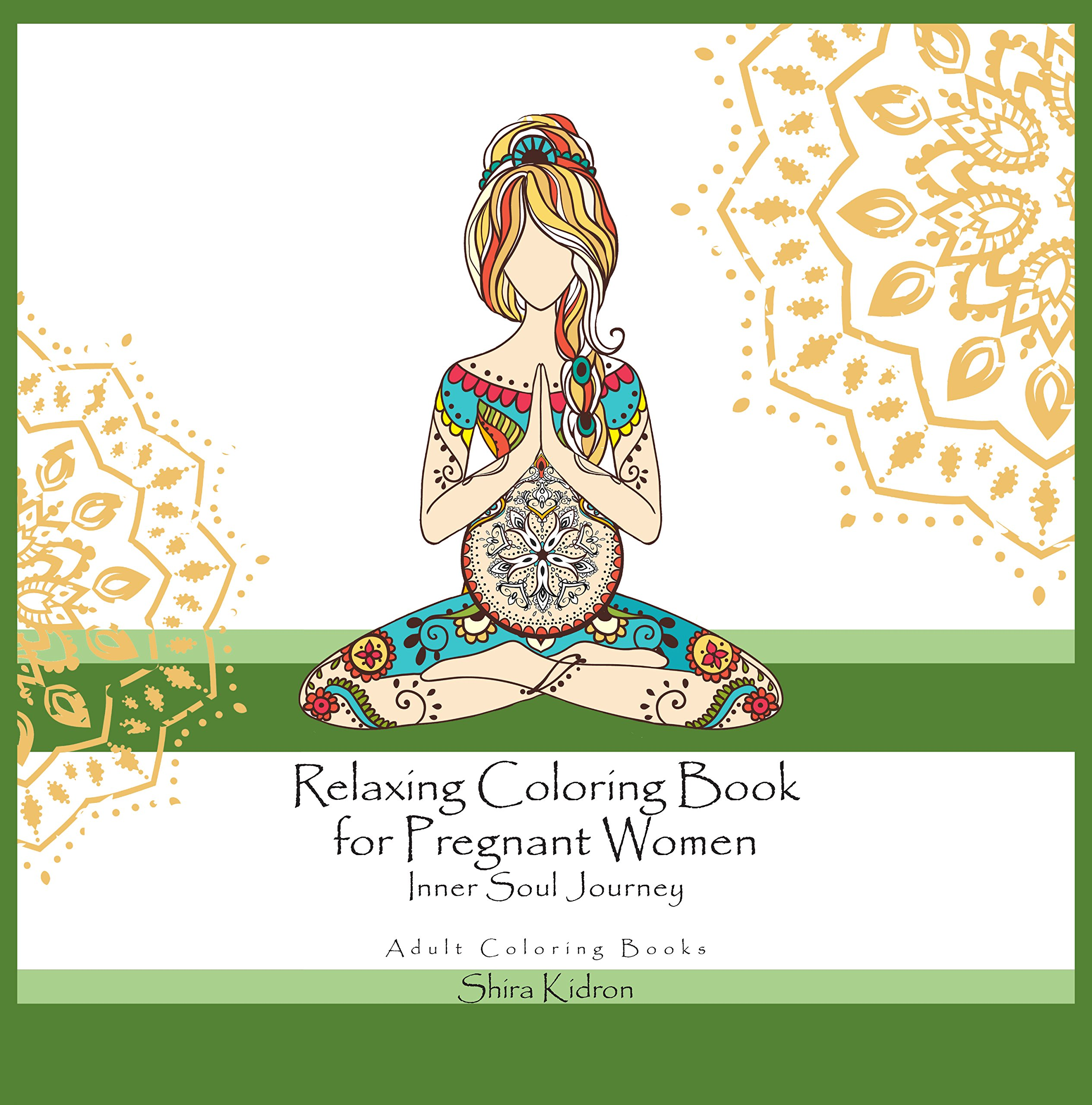 Adult Coloring Books Relaxing Pregnant product image